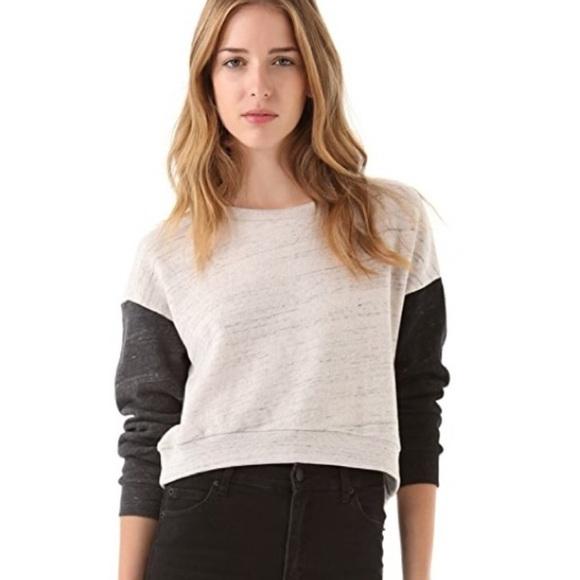 Aritzia Cheap Monday Terumi crop sweater